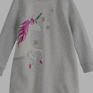 NWT Girls Fleece  Dress